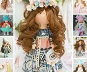 Dolls by Aleya / Dolls handmade by artist Aleya from Kazan city (Russia).