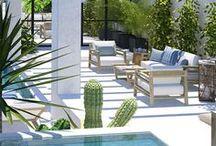 Pool design / Las mejores imágenes de Piscinas CostaRealty - Más que una Inmobiliaria. web: www.costarealty.com.mx