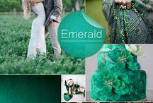 Wedding palette/Połączenia kolorystyczne