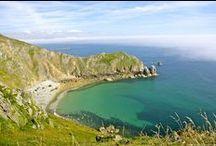 Presqu'île du Cotentin / Dans le département de la Manche, en Normandie, se situe la Presqu'île du Cotentin... Des paysages et une nature à couper le souffle. Mer et plages de sable fin, châteaux et jardins, patrimoine, à découvrir !