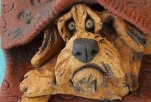 Dogs of clay