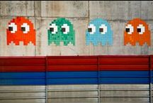 Space invader  / Tracking Space invader around the world