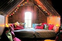 cozy nooks for reading & writing books / places to read and write and escape ...