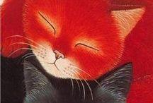 Gatos desenho/Chats dessinés