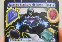 Altered Art (Magic the Gathering) / Carte da gioco collezionabili Alterate da Florinda Zanetti (FZ)