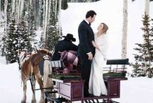 Winter wedding/Zimowe wesele / wesela zimą, śnieg