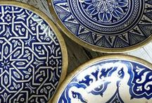 Mediterranean ceramics because colors and patterns... / maroccan, spanish, azulzjos, iznik ceramics
