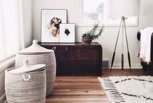 Interior / A little bit of everything! scandinavian, bohemian and minimalistic