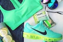 Workout wardrobe / Gym clothes we wish we had