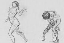 Sketch/ gesture drawing