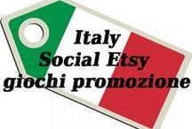 Items - Etsy - Team - Italy Social Etsy - giochi promozione