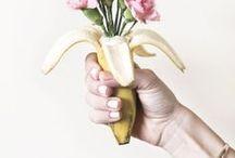 // Banana art