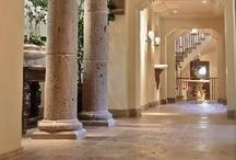 Stone + Tile Entryway