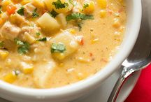 SOUPS, CHOWDERS AND STEWS