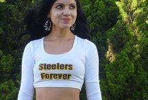Crop Tops For Football Fans / Please note that NONE of these crop tops are official NFL apparel.  This store and these crop tops are in no way affiliated with the N.F.L. or the any NFL teams, and no copyright infringement is intended.  They are, however, a way to express your support for your team (or against your least favorite team) in a unique, trendy way.