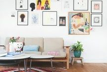interiors // picture wall