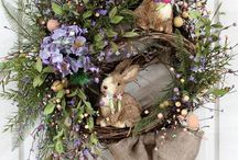 WREATHS AND SWAGS FOR EASTER