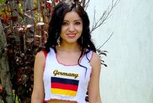 Country Flag Crop Tops / Show your love for your country in a trendy Sirenaz crop top.