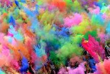 Multicolour / All pretty and creative things multicoloured!