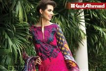 Embroidered Cambric Collection from Cambric Mid Summer 2014 / The GulAhmed cambric collection is only made with the highest quality of #fabrics with unique #innovative #designs that is best fit for your #fashionable wardrobe!  #Online #Orders via www.gulahmedshop.com