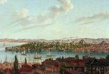 Tablolarda İstanbul ..