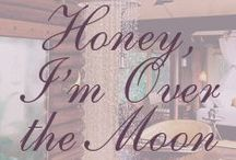 Honey, I'm Over the Moon / It's time to plan the honeymoon!