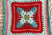 Granny square/afghan / Muster