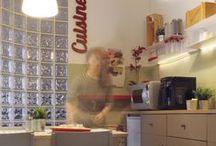 02 kitchen remodel / remodeling of a little kitchen inside a big office