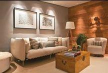 Projeto II / Casa unifamiliar com acessibilidade de dois pavimentos, com estilo rústico.