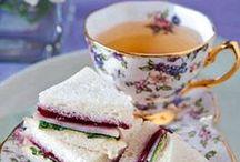 Tea time food ideas - Ιδέες για συνοδευτικά τσαγιού