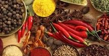 Herbs, Spices + Seasonings