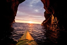 Sea Kayaking / Pictures of sea kayaking in open water  / by Frank Charron
