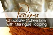 RECIPES | with coffee / Great #recipes for #drinks, #breakfast, #lunch and #dinner using #coffee.