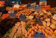 ♒ Produits bretons entre Terre et Mer / Le meilleur des produits bretons, des produits de terroir au produit de la mer. Viande, poisson et fruits de mer, biscuits, gâteaux... Tout est bon chez les Bretons ;)