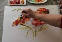 Aquarell | Watercolor Tutorial / #aquarell anleitungen #watercolor tutorial