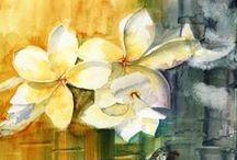 Watercolor Flower Power