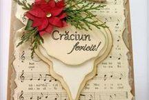 Felicitări Handmade de Crăciun / Christmas Handmade Cards