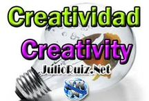 Creativity / Creatividad / Information, images, infographics, words  of how to be creative