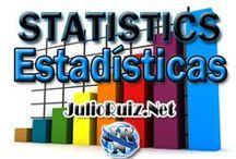 Statistics / Estadísticas / Estadísticas generales de todo tipo: Redes Sociales, SEO, SEM, Websites, Rankings, etc.