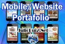 Mobile Websites Portafolio / English and Spanish #Mobile #Websites