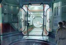 Spaceship Interior / Sci Fi Spaceship Environments