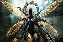 Sci FI Armor/Suits / Badass Armory!