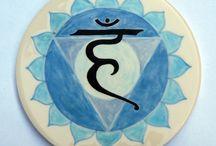 Vishuddha / Throat chakra meditation, reflection, healing.