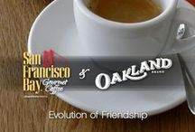 SF Bay & Oakland Coffee / We've partnered with #OaklandCoffee to your bring some of the best #coffee in the world. Look for more info here.