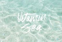 """Seas"" the Day! / Nautical quotes that inspire our inner mermaid."