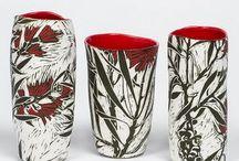 Ceramic Sgraffito