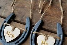 Horseshoe DIY Projects / Shop Tractor Supply stores & online for horseshoes, welders, twine, burlap, mason jars, tools -- everything you need to make these cool DIY horseshoe projects.