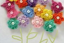 Crochet Flowers / by Arlene Price
