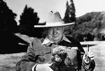"""Winston Churchill / """"I was hoping for a battle of wits, but you appear to be unarmed."""""""