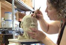 Co-op Artist Tammy Gentuso / My 3-D musings in clay...
